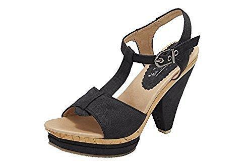 Best Connections Sandalette - Sandalias de Vestir Mujer negro - negro