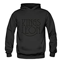 Crystal Men's Kings Of Leon Long Sleeve Jacket Black US Size L