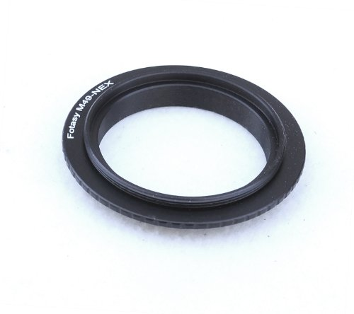 Macro Ring Reverse (Fotasy Macro Lens Reverse Adapter Ring 49mm for Sony NEX E-Mount Mirrorless Cameras)