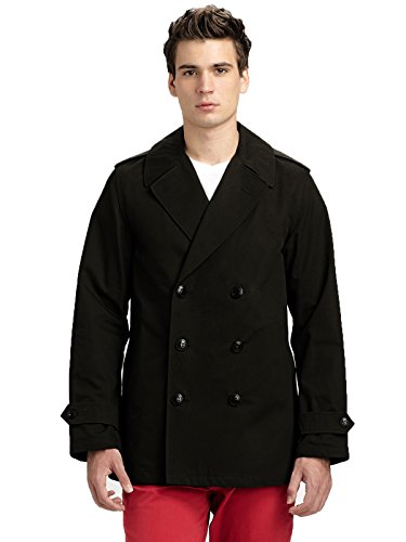 Surface to Air Men's Dutch Caban Jacket, X-Large, Black for sale  Delivered anywhere in USA