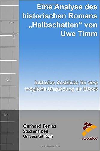 Amazoncom Eine Analyse Des Historischen Romans