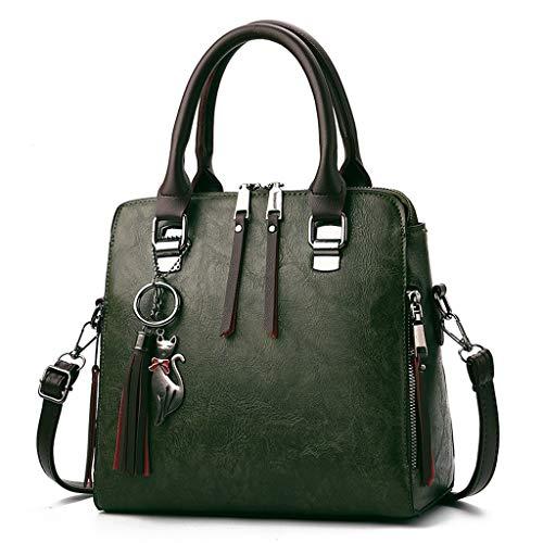 Bohemian Womens Tassel Crossbody Boho Shoulder Bag,Canvas Shoulder Bag Retro Casual Handbags Messenger Bags