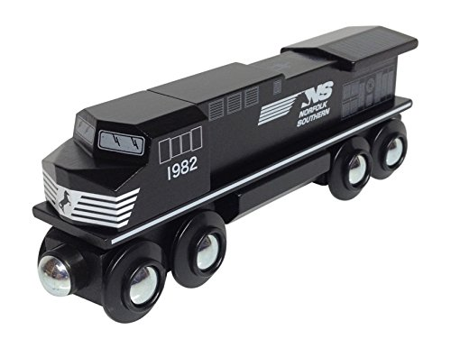 Norfolk Southern Diesel Locomotive magnetic wooden train