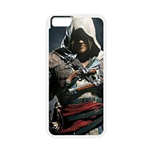 iPhone6 Plus 5.5 inch Phone Case White Assassins Creed Black Flag ZDC433855