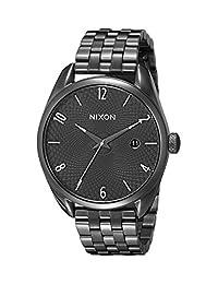 Nixon Women's A418001 Bullet Analog Display Analog Quartz Black Watch
