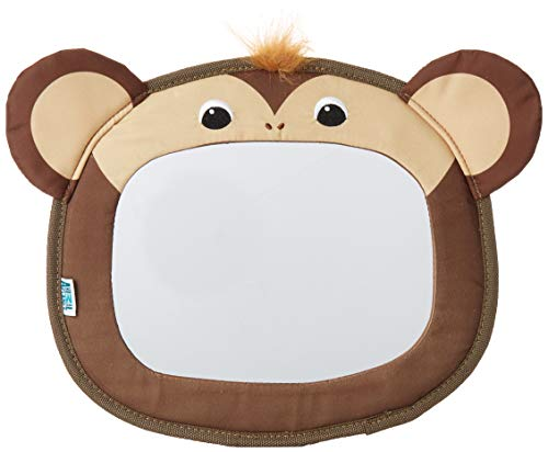 Animal Planet Baby Backseat Mirror for Car - View Infant in Rear Facing Car Seat, Peach Money, Child Toddler -