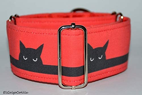 El Galgo Cotilla Bad Cat - Martingale Collar Galgos Greys Dogs ...
