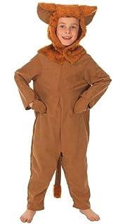 8eb188dcd Girls Boys Jungle Lion Onesie Animal Safari World Book Day Week Fancy Dress  Costume Outfit 3