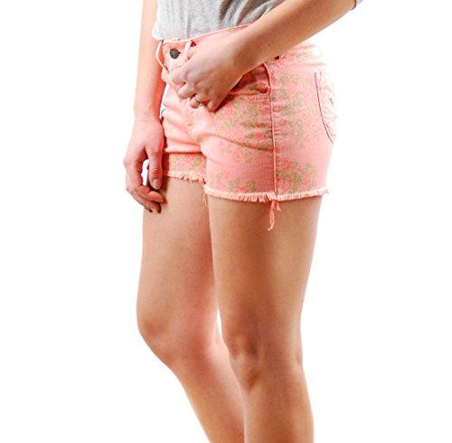 delle tagliati Belle Fiore jeans Celeb Dimensione sguardo donne Rosa 26 Siwy fuori bicchierini ALIA ExTcdpwqYx
