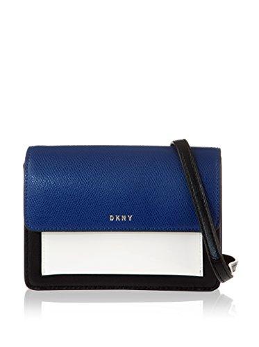 DKNY Borsa A Tracolla R461180202 Bryant Park Blu/Nero/Bianco