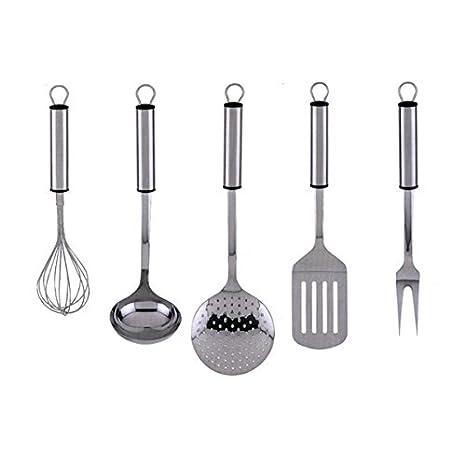 Compra Set de 5 utensilios de cocina GRAF en acero ...