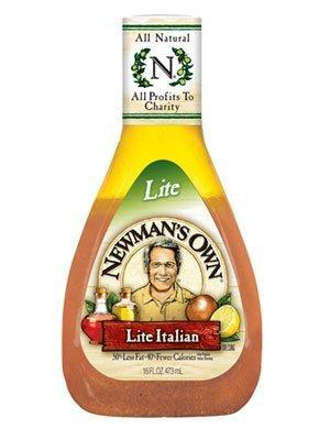 Newman's Own Light Italian Dressing 16 OZ.(pack of 6) by Caesar Dressing