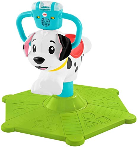 Fisher-Price Bounce and Spin Puppy, Juguete Musical para ...