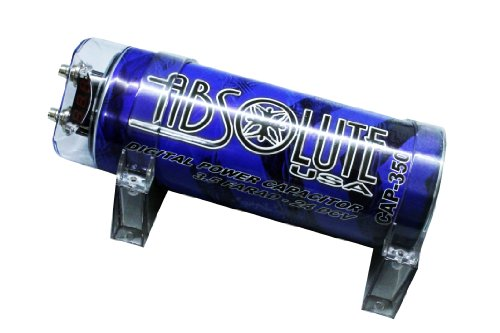 Absolute Usa Amplifier (Absolute USA CAP350B 3.5-Farad Digital Capacitor Blue)