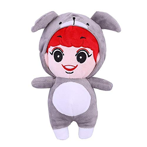 NUOFENG Kpop Cute Cartoon EXO Plush Doll Toy Chanyeol Sehun D.O. Kai Suho Xiumin Baekhyun Chen Throw Pillow Cushion (H03)
