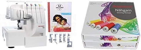 Gritzner 788 Overlock - Caja de Hilo de Coser con Manual y Carrete ...
