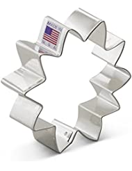 Ann Clark Sunflower Cookie Cutter - 3.5 Inches - Tin Plated Steel