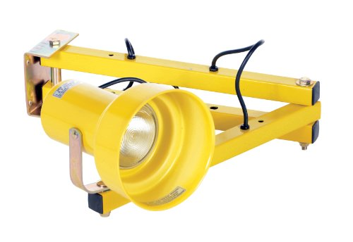 Vestil LL-40 Incandescent Dock Loading Light, Double Arm, Strut, 40