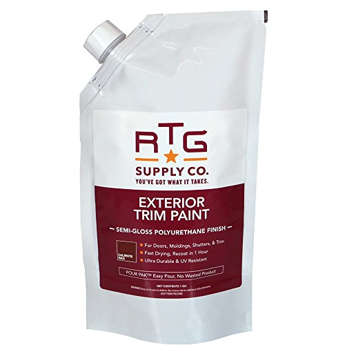 RTG Exterior Trim Paint (Quart, Caliente Red)