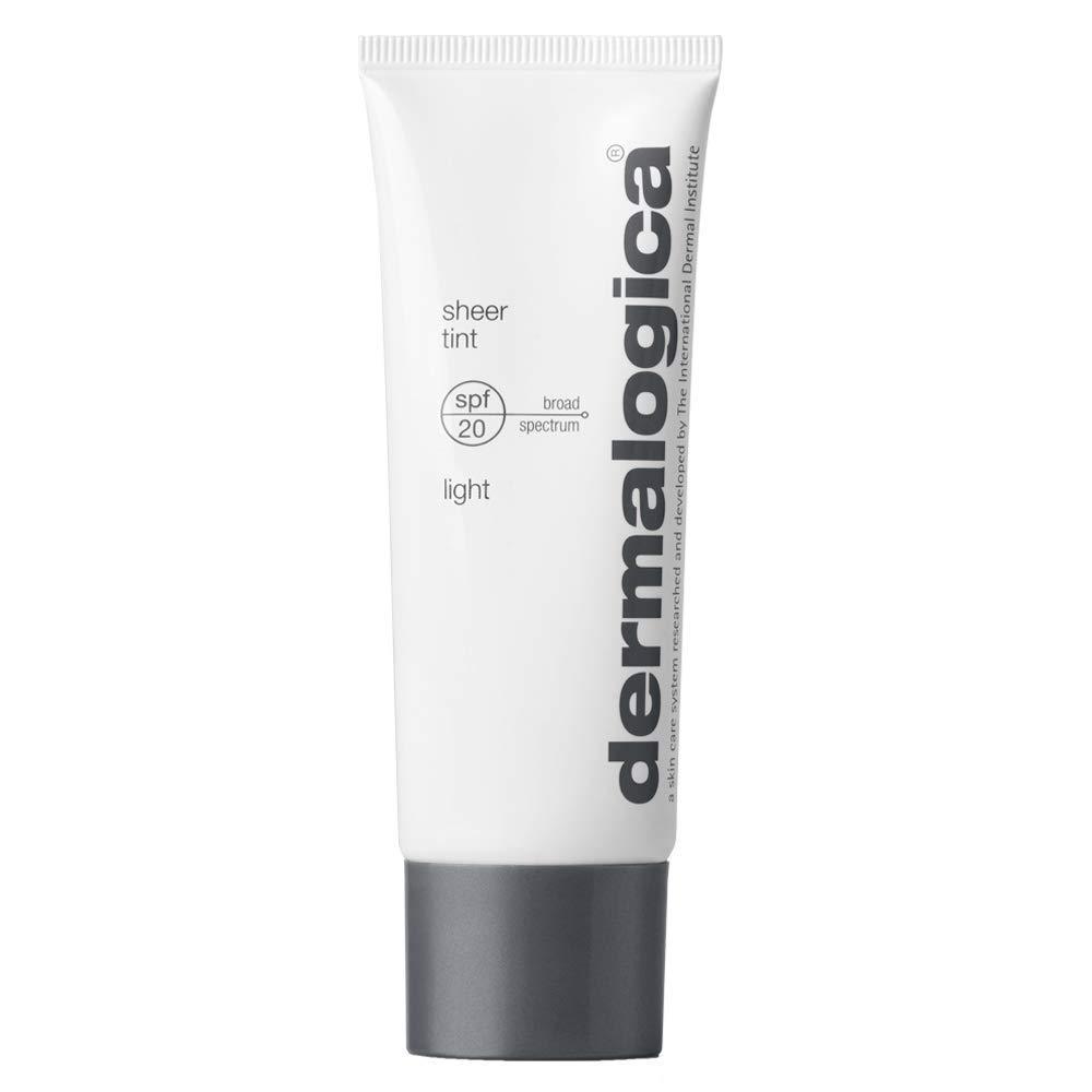Dermalogica Sheer Tint SPF20 – Tinted Moisturizer Sunscreen with Hyaluronic Acid – Skin-Evening Sheer Color That Defends Against UV Damage
