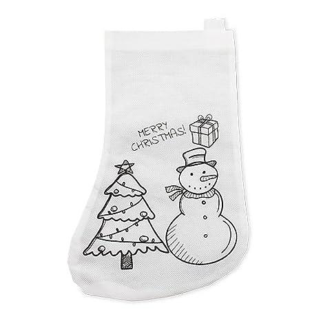 Siglo XXI Calcetin Christmas Pack 10 Unidades: Amazon.es: Juguetes y juegos