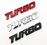 Turbo Door Trunk Window Emblem Fender Trim Kit 2