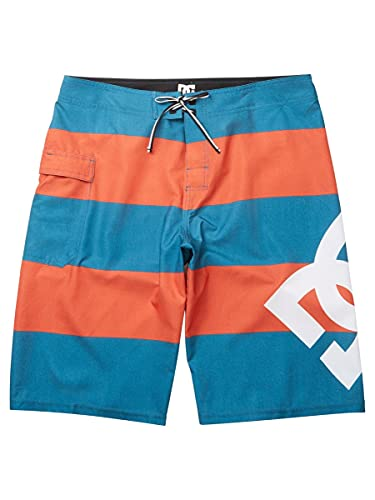 DC Men's Lanai 22 Inch Boardshort Swim Trunk, Atlantic De...