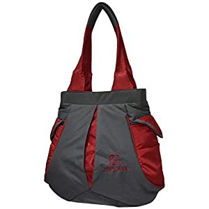 Pesogear Women's Shoulder Bag (PWS0033_Grey & Red)