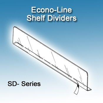 Plastic Shelf Dividers (1