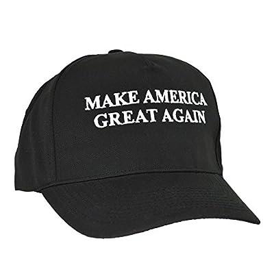 DALIX Donald Trump MAKE AMERICA GREAT AGAIN Hat Cotton Twill Cap in Black