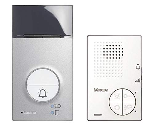Legrand 361511 Audio Sprechanlage Flex'One im Set Linea 3000 mit Classe 100 A12B