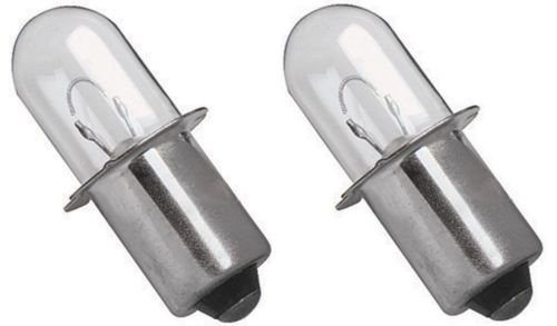 2 Ryobi 18 VOLT Flashlight Replacement Xenon Bulb 18V P700 P703 FL1800 2 Pack - 18 Volt Flashlight Replacement Bulb