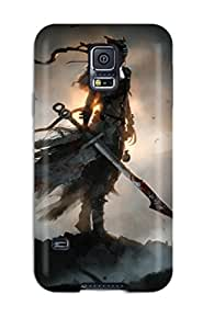 Hot High Quality Shock Absorbing Case For Galaxy S5-hellblade