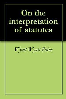 maxwell interpretation of statutes pdf