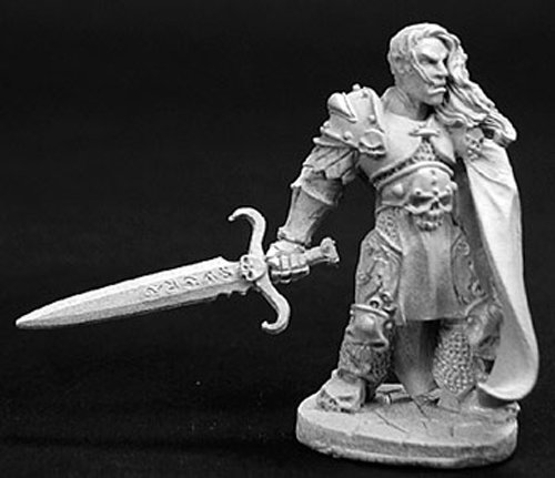 Reaper Miniatures Ulern, Anti-Paladin 02745 Dark Heaven Legends Unpainted Metal (Dark Paladin Miniatures)