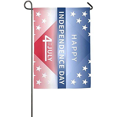 Starohou FLAG Personalized Garden Flag - Custom Happy Indepe
