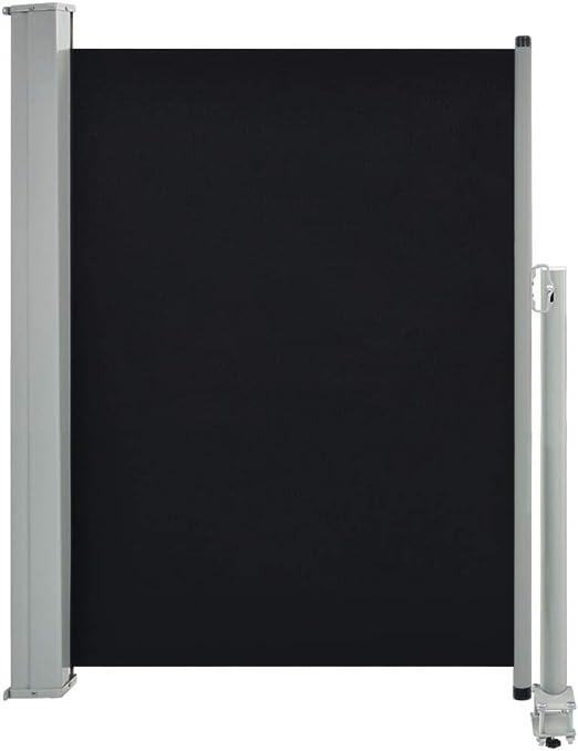 vidaXL Toldo Lateral Retráctil de Patio 100x300 cm Negro Cenador ...