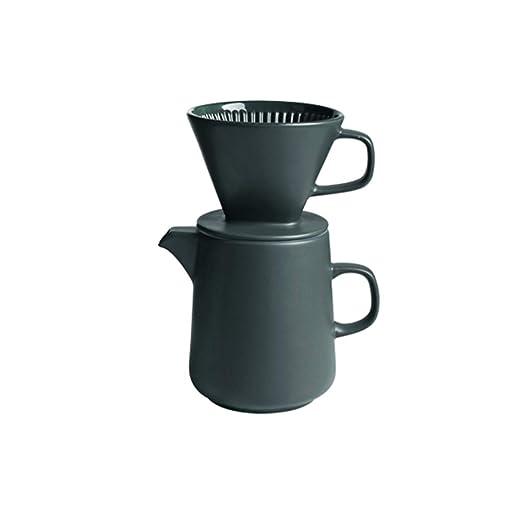 Cafetera de goteo Cafetera de mano Combinación de la mano Cafetera ...