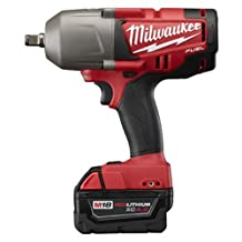 Milwaukee Electric Tool 2763-22 M18 Impact Wrench, 1/2-Inch