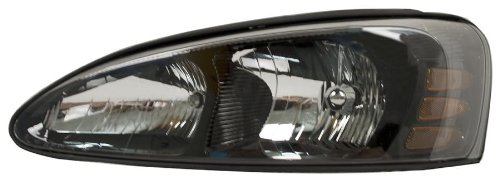 Grand Driver Prix Replacement Pontiac (OE Replacement Pontiac Grand Prix Driver Side Headlight Assembly Composite (Partslink Number GM2502227))