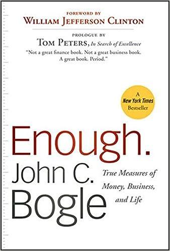 True Measures of Money, Business, and Life - John C. Bogle