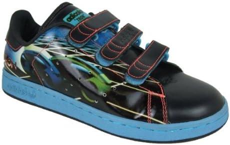 adidas Mens Originals Stan Smith 2 CF Tron Velcro Trainer Black ...