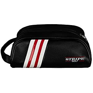 Amazon.com: Stripe - Bolsa de piel para zapatos de golf ...