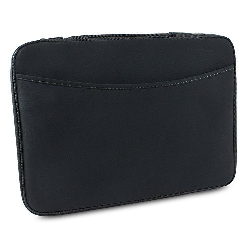 """Logitech 16"""" Laptop/Notebook Sleeve Case w/Fleece Lining - B"""