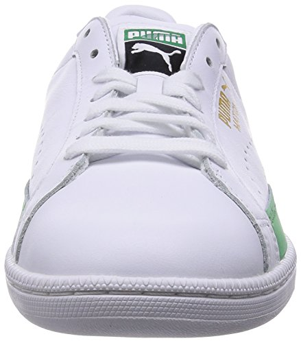 Puma Match 74 - Zapatillas para hombre Bianco (Weiß (white-fern green 03))