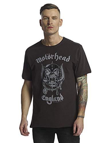 Motorhead T shirt Homme england Cc charcoal Grey Amplified qBdxEB