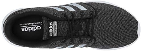 adidas Women's Cloudfoam Qt Racer Sneaker, Black/Silver Metallic/Grey, 5.5 M US by adidas (Image #7)