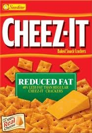 - Cheez-It Reduced Fat , 7.5-Ounce Packages (Pack of 6)