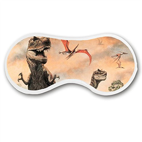 Price comparison product image JessPad Sleep Mask Deep Rest Dinosaurs World Cotton Blends Eye Mask for Sleeping