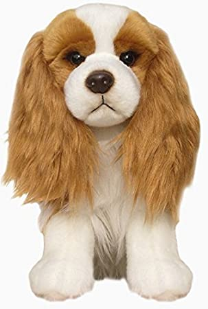 Cavalier king charles spaniel dog blenheim floppy soft cuddly cavalier king charles spaniel dog blenheim floppy soft cuddly toy 12 inch altavistaventures Images